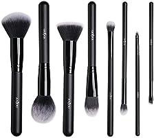 Pennelli Make up Anjou Set di 8 Pennelli per il Trucco Viso, Spazzole per il Make-Up con Soffici Fibre Sintetiche