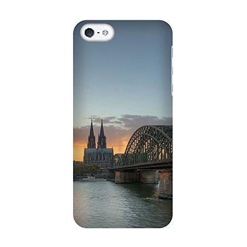 iPhone 4/4S Coque photo - Hohenzollern Bridge Cologne