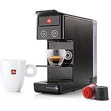 MÁQUINA DE CAFÉ en cápsulas ILLY modelo Y3.2 Iperespresso negro, ideal para café