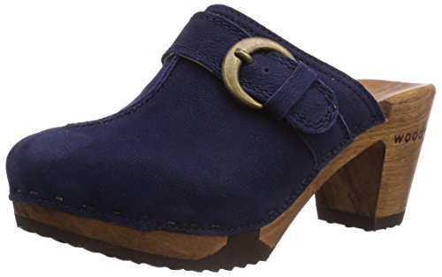 Woody - Christina, Zoccolo da donna Blu (Bluemarine)