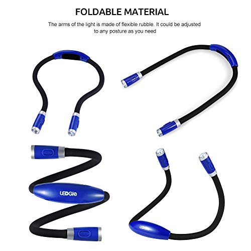 Flexible LED Leselampe zum Umhängen - 4