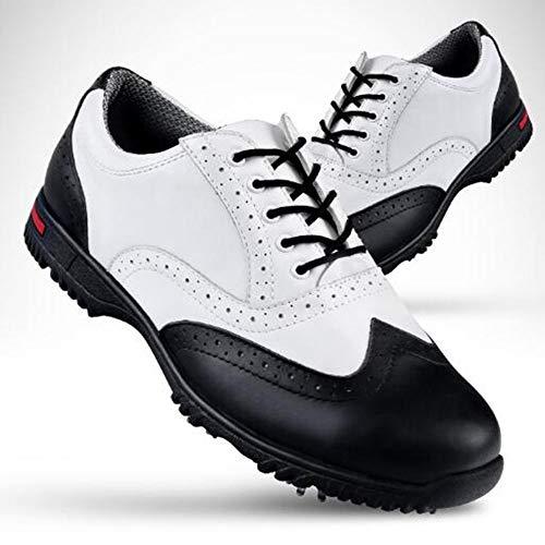 XIANGYANG Scarpe da Golf da Donna di Grandi Dimensioni, Scarpe da Tennis Impermeabili Unisex multifunzionali con Lacci,41