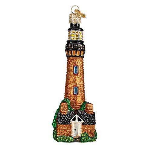 Old World Weihnachten Currituck Leuchtturm Glas mundgeblasen Ornament - Kurt Adler Christmas Lights