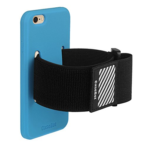 Fintie Apple iPhone 6 Plus / iPhone 6S Plus Armband / Hülle - [CaseBot Sportsarmband] Laufen & Training Sport Armband mit Premium Flexibel Abnehmbar Silikon Handy Hülle Case Etui für Apple iPhone 6 Pl Blau