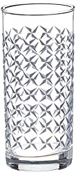Luminarc Amsterdam Aldwin Highball Glass Tumbler Set, 270ml, Set of 6, Grey