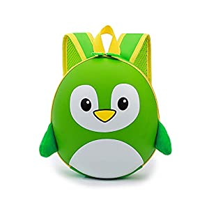 41n3S Zl3zL. SS300  - JYCRA Maternelle Enfants Sacs à Dos, Super Mignon 3D de Dessin animé Pingouin Sac à Dos École Maternelle École Reine…