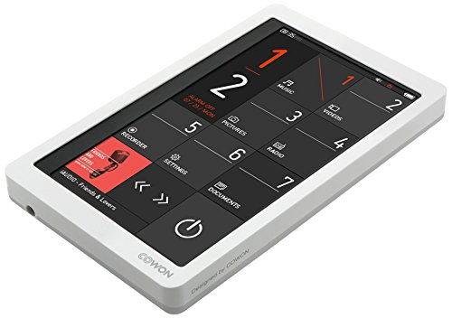 Cowon X9 MP3-Player (10,9 cm (4,3 Zoll) LCD-Touchscreen, 480 x 272 Pixel, G-Sensor, TV-Out, Line-In, 16GB interner Speicher, FM-Radio) weiß