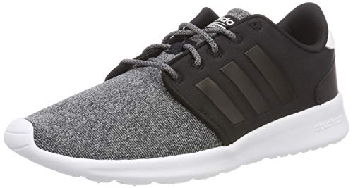 hot sale online a77cd 6d90c adidas CF QT Racer, Chaussures de Running Femme, Multicolore Core Black  B43764, 37