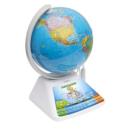 Smart Globe Adventure SG268R - SmartGlobe interactivo con bolígrafo inteligente y realidad aumentada 3D