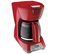 Proctor Silex 12 Cup Coffee Maker in Red