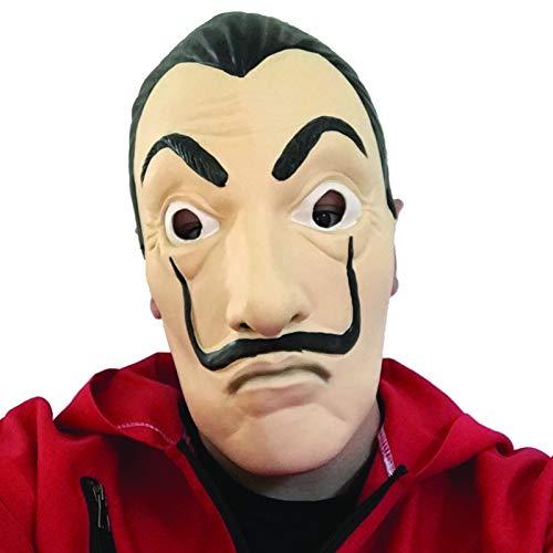 Dali Maske Casa de Papel - Salvador Dali (100% Natürliches Latex + - Machen Sie Ihre Eigenen Kostüm Spiele