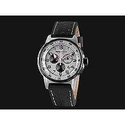 Reloj Momo Design Pilot Pro Crono Quarzo, Acero Inoxidable 316L, 46mm. 5 atm