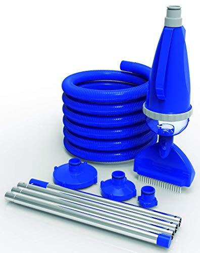well2wellness® Pool Handsauger Set Poolreiniger 'Pool-VAC' für Aufstellbecken (022617)