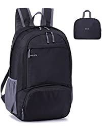 MRPLUM 25L-30L Rucksack Foldable Ultralight Packable Backpack, Unisex Durable Handy Daypack for Travel & Outdoor Sports Durable & Waterproof