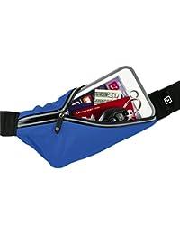 Gear Beast Running Belt Fanny Pack Waist Bag. ID