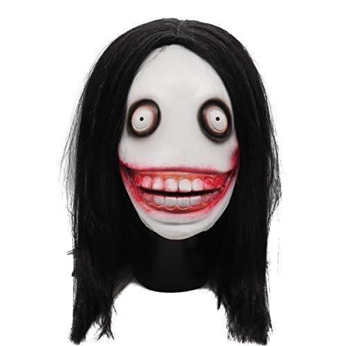 CHQPT Halloween Horror Maske Scary Mörder Maske Erwachsene Latex Kostüm Halloween Scary Maske Gruselig Schrecklich Maske für Halloween Weihnachten Kostum Party (Erwachsene Halloween-kostüme 2019)