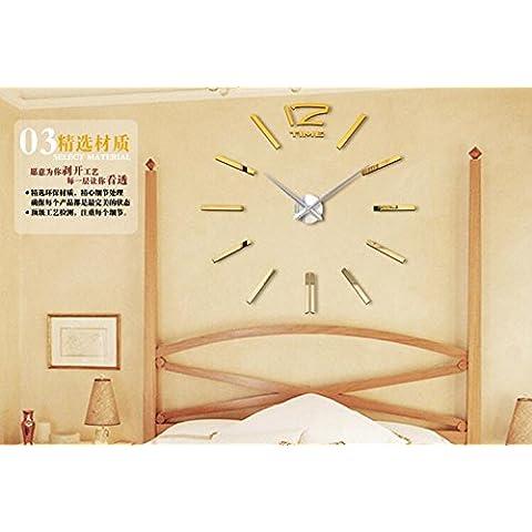 stile europeo e americano, orologio acrilico orologio da parete a
