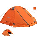 Leoie 2 Person Portable Folding Waterproof Tent Easy Setup Lightweight 4 Seasons Tent