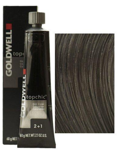Goldwell - Topchic Haarfarbe 6A dunkel-aschblond Das neue Topchic! Wahre Farbexpertise erleben! - 60 ml