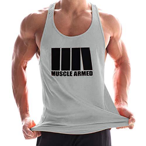 Camiseta de Tirantes Deporte Hombre
