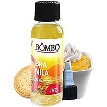 E-liquid BOMBO BRANILA + VG 60ML – selecta vainillas emulsionadas con nata en una