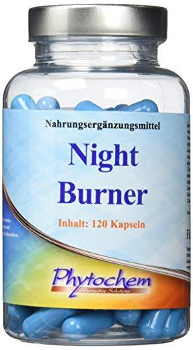 NIGHT BURNER   zur Unterstützung der Fettverbrennung in der Nacht   120 Kapseln   Premium Qualität aus Deutschland