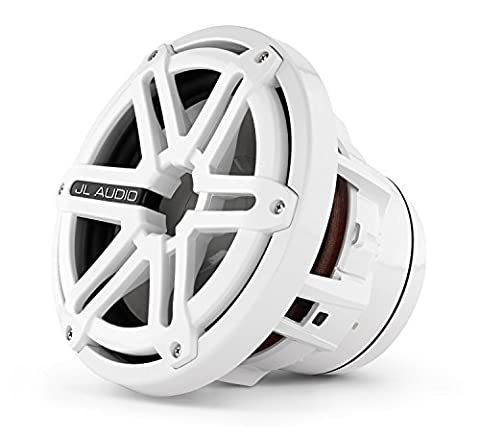 M-Series 8-inch marine Subwoofer Driver For infinite-baffle use (200W, 4& # x3a9;)–White Sport Grille