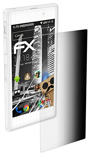 atFolix Blickschutzfilter für Smartisan T1 Blickschutzfolie, 4-Wege Sichtschutz FX Schutzfolie
