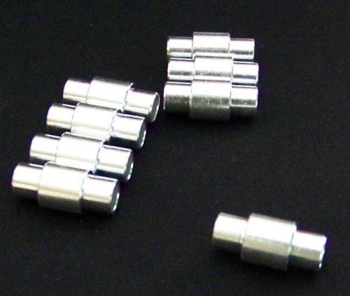 8er Set Inline Alu Spacer für 6mm Achsendurchmesser wie bei K2 Skates