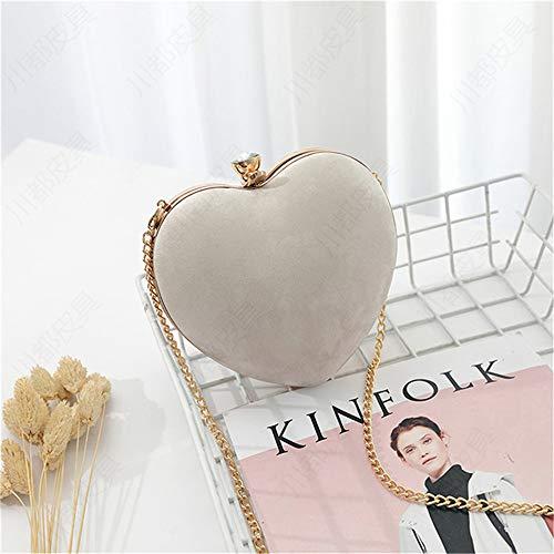 Elegante Liebesbrieftasche weiß 15 * 16 * 8cmRobustes doppeltes Falten - Visitenkartenhalter - Münztasche - Box usw. für mehrere Zwecke -