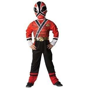 Power Rangers - I-881831S - Déguisement - Costume Classique - Power Rangers - Rouge - Taille S