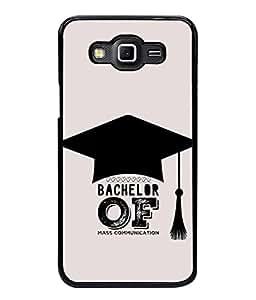 PrintVisa Designer Back Case Cover for Samsung Galaxy Grand 2 (Bachelor of mass communication )