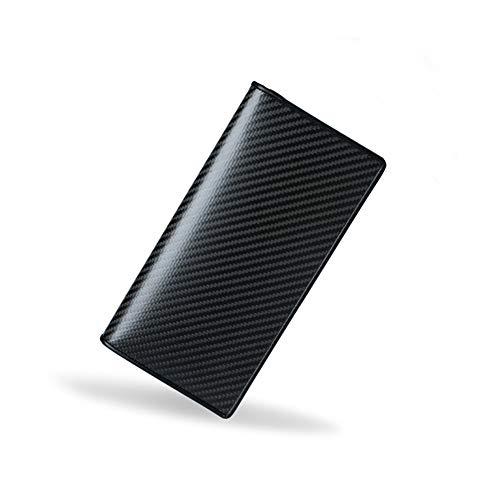 FRYP Multifunktions-Herrenbrieftasche aus echtem Kohlefaser für Herren und Herren aus Europa und Amerika Amerika Software