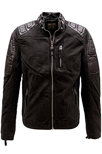 KHUJO Herren Jacke MAPLE black in S