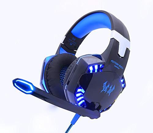 MiPao Gaming Headset Spiel Kopfhörer Deep Bass Stereo Ohrhörer Mit Led Light Microphone Mic Für Pc Laptop Ps4 Xbox
