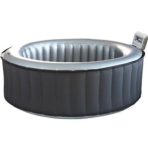 Aufblasbarer Whirlpool Filterkartusche CLOUD SILVER LITE, rund, 6-sitzer, grau Mspa SP-M021LS