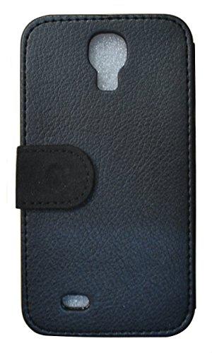 Flip Cover Schutz Hülle Handy Tasche Etui Case für (Apple iPhone 5 / 5s, 615 lustiger Hase) 622 Tattoo Style Schwarz Gold Rot