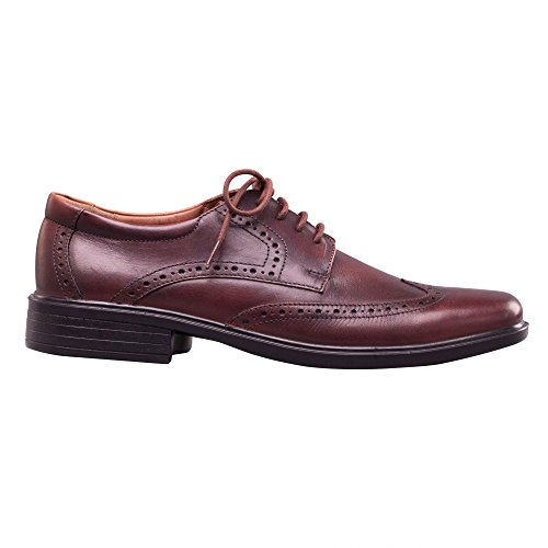 Padders Riley, Chaussures Brogues à Lacets Homme BROWN (ANTIQUE BROWN)