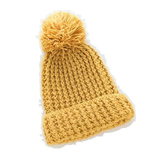 HCFKJ❄ Hut, Männer Frauen Warm Hairball Winter Plus -