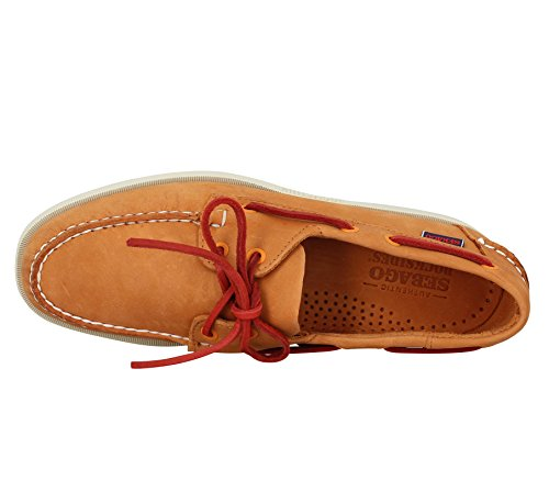SEBAGO Docksides velours Orange Orange