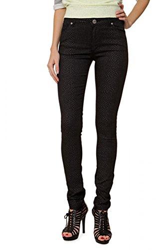 Fiveunits 5Units Damen Jeans Skinny Slim Leg Jeans OLIVIA Dunkelgrau