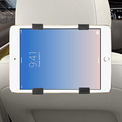 mini tablet samsung Audew Supporto Tablet Universale Auto Regolabile Rotazione di 360°Poggiatesta Sedile Posteriore Auto per iPad Mini/2/3/4