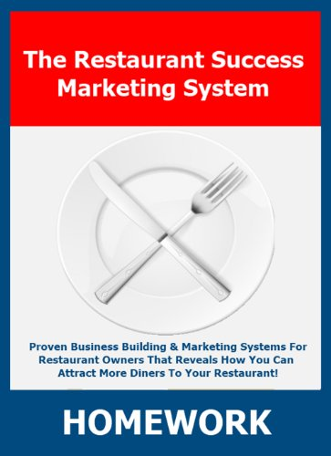 Restaurant Owner Home Study Course  Module 6
