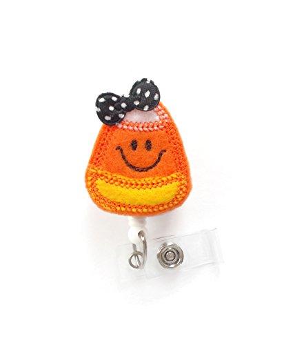 it Schleife-Krankenschwestern Badge Holder-Halloween Badge-Still Badge Holder-Lehrer Badge Reel-RN Badge ()