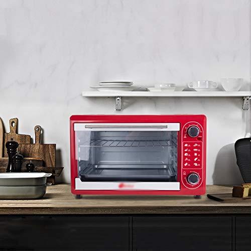 QPSGB Mini-Ofen - Mini-elektrischer Ofen-Haushalts-Kleiner Ofen 48 L Hochtemperaturofen Porzellan-innerer mechanischer Knopf Kleiner Ofen - Öfen 268 -