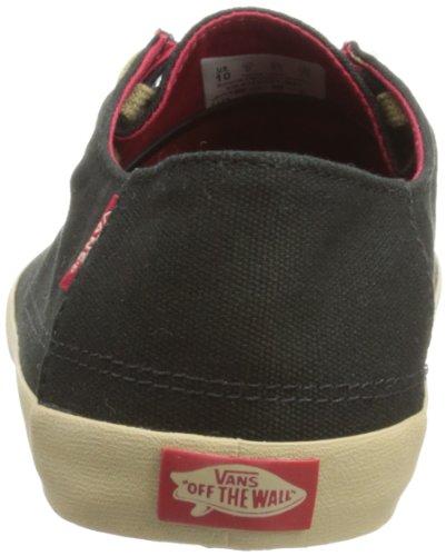 Vans Rata Vulc Vjxm6et, Sneaker Uomo (noir / Kaki (vjxm6et))