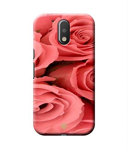 Motorola Moto G4 Plus Pink Rose Mobile Case by Case Of Phile