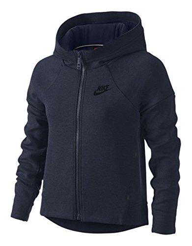 Nike Tech Fleece FZ Hoodie YTH Sweat Shirt de Fitness et de Sport pour Fille
