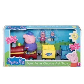 New Peppa Pig on Grandpa Pig's Train by ChoicefullBargain