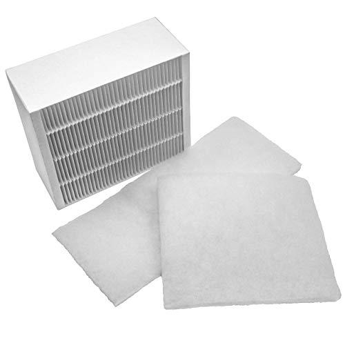 Luft Ersatz-vorfilter (vhbw 3x Ersatz Luft-Filter Grobfilter + Feinfilter passend für Vallox ValloPlus 270 MV, 270 SC, 270 SE Lüftungsgerät)